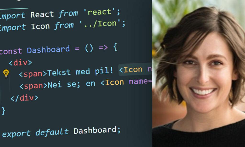 image: Slik får du SVG-ikoner i React