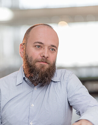 Per Buer er CEO i OS-selskapet IncludeOS. Foto: Per Buer