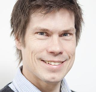 - Det er fordel å kunne vise til egne prosjekter forteller Kristan Lier Selnæs. han er til daglig Avdelingsleder og senior frontendutvikler i Kantega. Foto: Kristian Lier Selnæs.