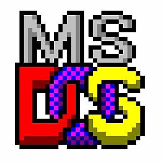 Den originale logen til MS-DOS er også inkludert i kildekoden. Foto: Microsoft / Github