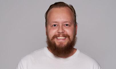 Kristofer Selbekk jobber med React i konsulentselskapet Bekk. Foto: Kristofer Selbekk