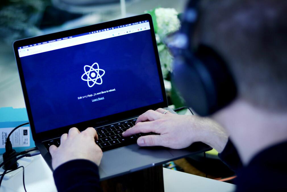 Vi prøvde, og det gikk lett å oppgradere til Create React App versjon 2. Foto: Ole Petter Baugerød Stokke