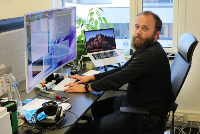 Per Buer kom fra Varnish i 2017, og er nå CEO i IncludeOS. 📸: Jørgen Jacobsen