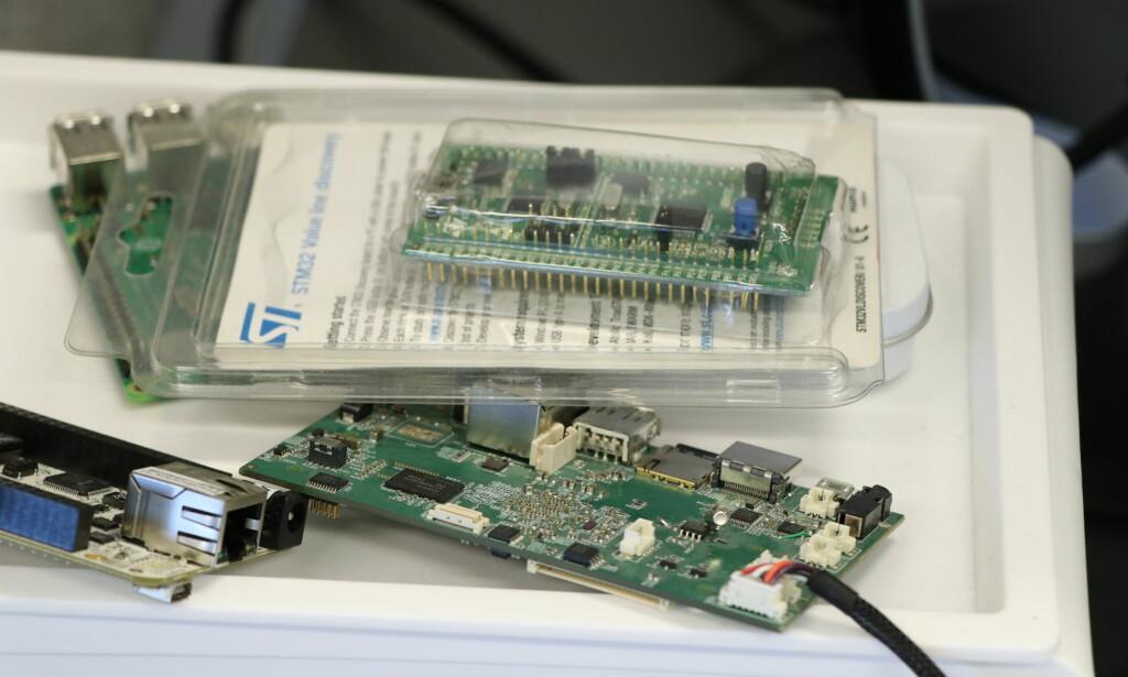 Gjengen i IncludeOS skal satse på ARM-basert teknologi fremover. 📸: Jørgen Jacobsen