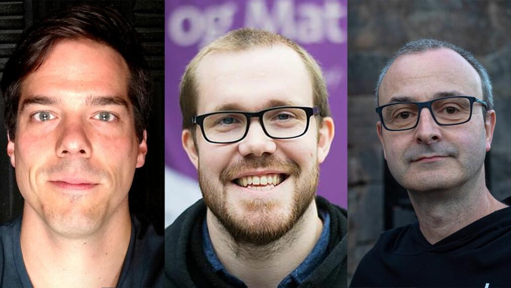 kode24 har snakket med de norske utviklerne som har flest bidrag på Github i år.📸: Tore Hansen / Linda K. Hogstad / Markus Tacker