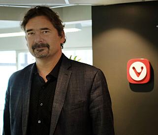 Jon Von Tetzchner står både bak nettleseren Opera, og Vivaldi. 📸: Jørgen Jacobsen