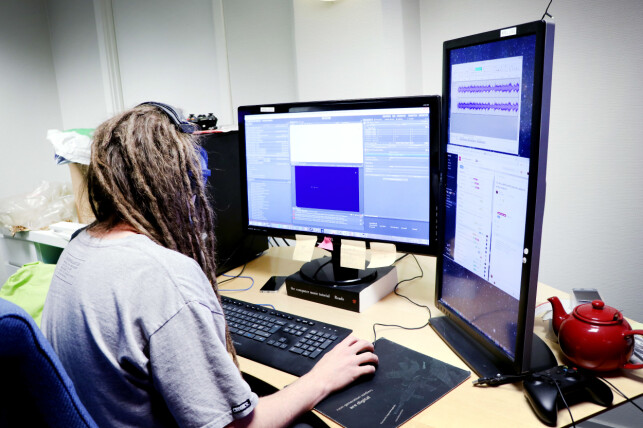 Krillbite består av fire utviklere, fire artister, én lyddesigner, to spilldesignere, én prosjektleder og én direktør. 📸: Ole Petter Baugerød Stokke