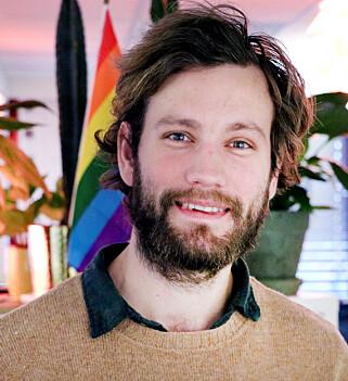 Adrian Tingstad Husby startet Krillbite for å gjøre ferdig bachelor-oppgaven deres, som ble spillet Among the Sleep. 📸: Ole Petter Baugerød Stokke