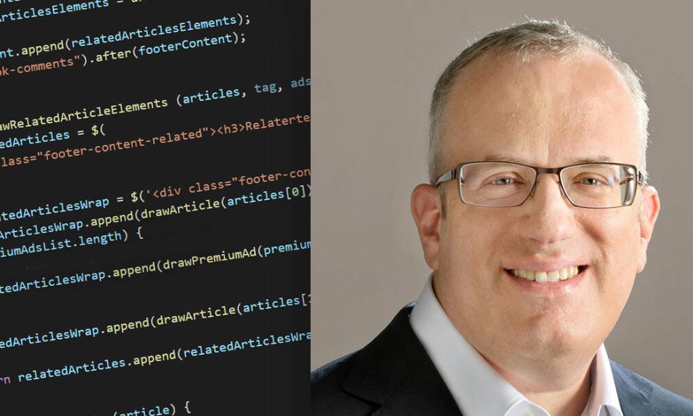 Brendan Eich skapte Javascript i 1995. 📸: Jørgen Jacobsen / Wikipedia