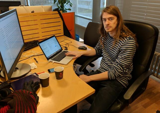 Lars Tønder er seniorkonsulent i Webstep. 📸: Lars Tønder