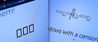 image: Ikke alle får se disse Unicode-penisene