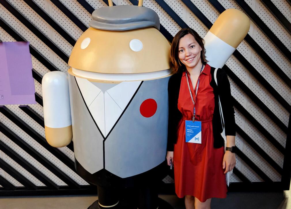 Kristina Simakova er blant annet selvstendig Android-utvikler, og jobber nå i hemmelig prosjekt hos Get. 📸: Privat