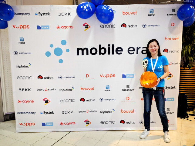 Kristina Simakova er blant annet involvert i den norske Mobile Era-konferansen. 📸: Privat