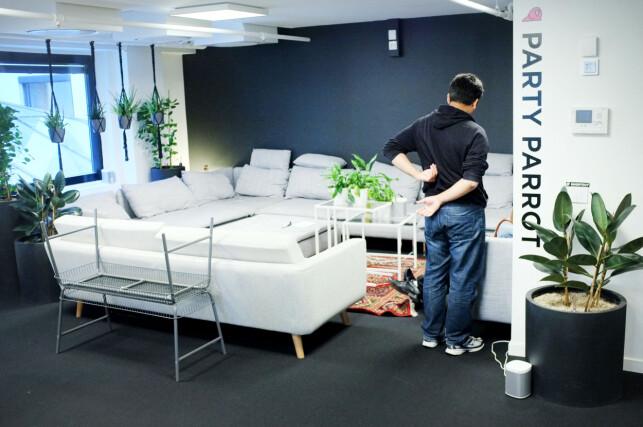 Hos Shortcut finner man åpent kontorlandskap, men også lounger, team-rom og valgfrihet. 📸: Ole Petter Baugerød Stokke