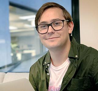 Utvikler Petter Holstad Wright i Shortcut. 📸: Privat