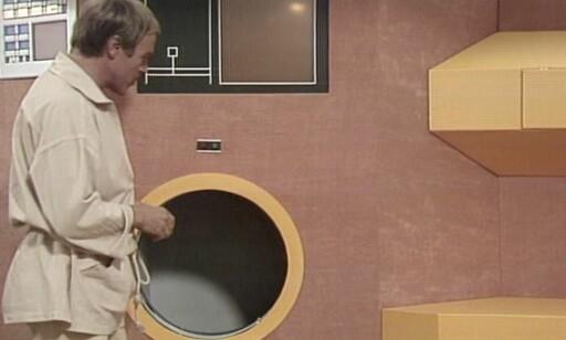 Det er mange snedige duppeditter på romskipet Marco Polo. Her fra avfalls-sjakten i kantina.     📸: NRK