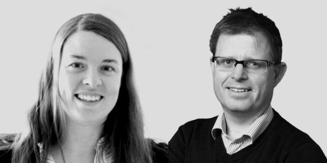 Avdelingsleder Anette Bergo og CTO Simen Sommerfeldt i Bouvet. 📸: Bouvet