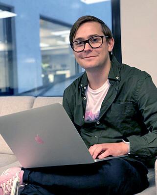 Seniorutvikler Petter Wright i Shortcut. 📸: Privat