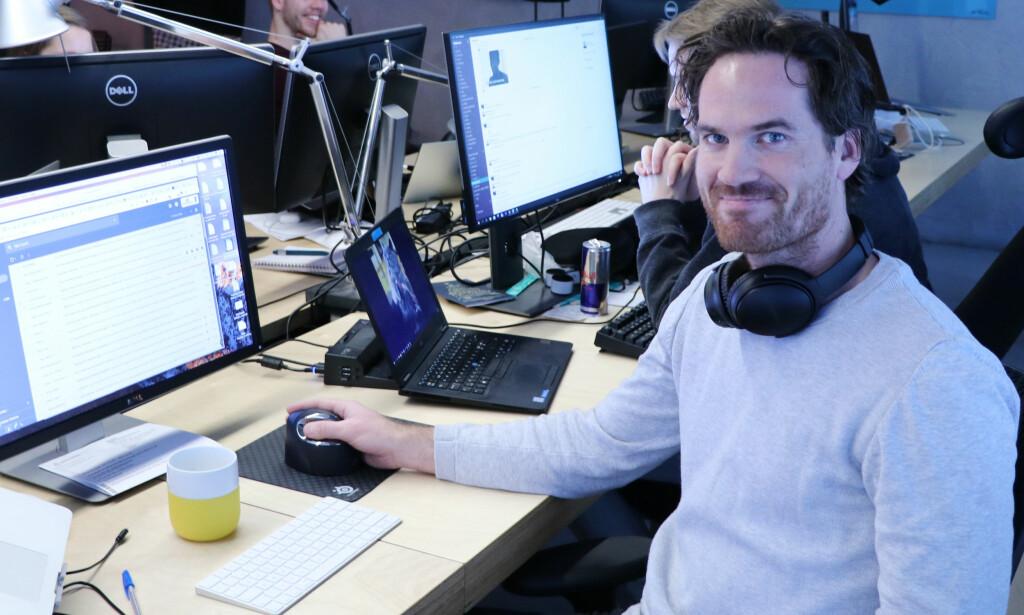 Anders Øies teft for gode domener la grunnlaget for Nettbureau. 📸: Jørgen Jacobsen