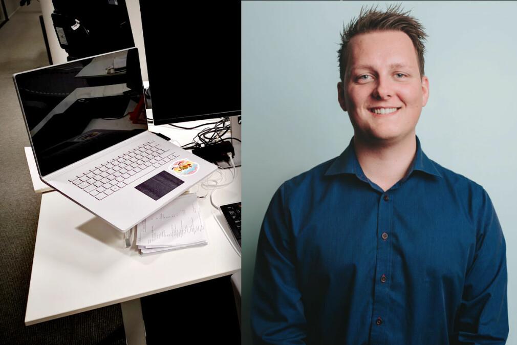 Utvikler Karl Henrik Skaug i Knowit er Ukas Koder på kode24. 📸: Privat