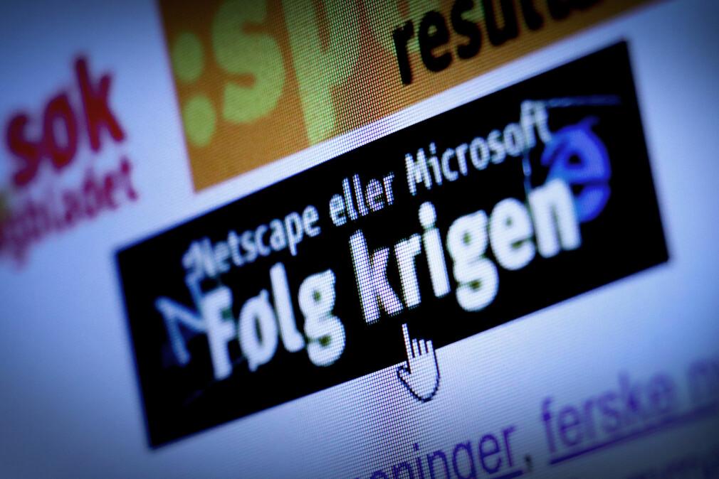 Hos dagbladet.no kunne man på slutten av 90-tallet følge nettleser-krigen hver eneste dag. 📸: Ole Petter Baugerød Stokke
