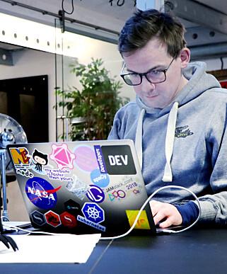 Knut Melvær jobber for å få enda flere utviklere til å bruke Sanity. 📸: Ole Petter Baugerød Stokke