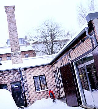 Sanity holder til i en gammel trikkestall i Oslos hipsterstrøk. 📸: Ole Petter Baugerød Stokke