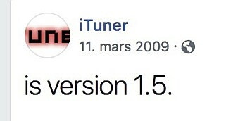 Looking back, not that many brands had their own Facebook page back in 2009.