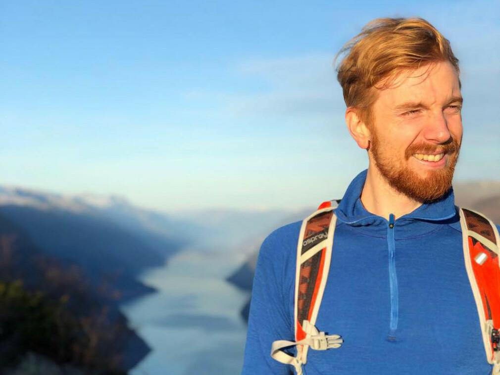 Ukas Koder Vegard Aasen er konsulent for Webstep, og liker både koding og friluftsliv. 📸: Privat