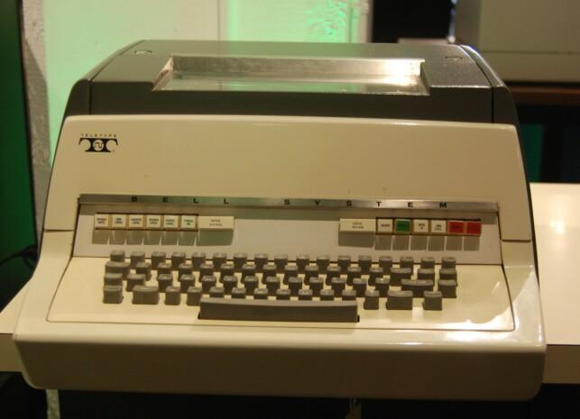 Tastaturet Ken Thompson brukte da han skrev språket B. 📸: CC BY-SA 4.0 / Wikipedia