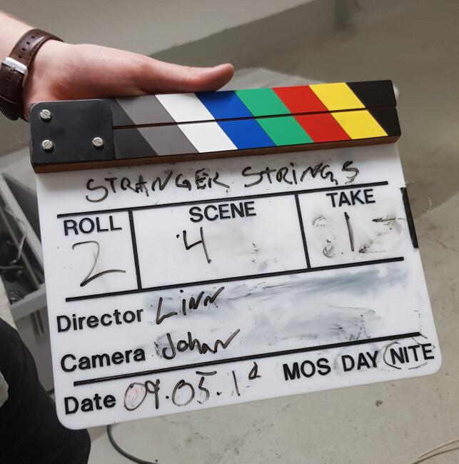 Picture from Stranger Strings movie set. 📸: Rustam Mehmandarov
