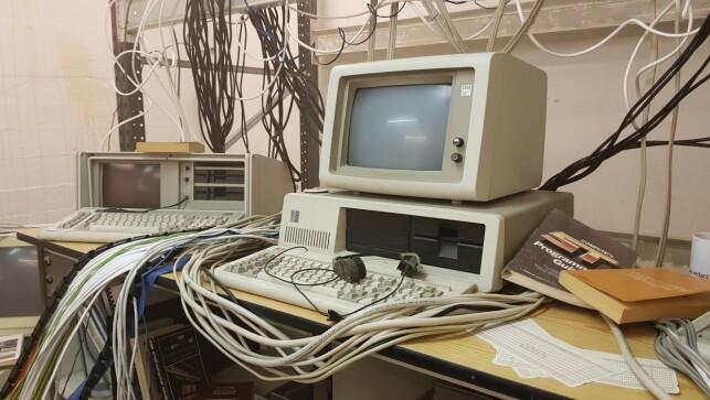 IBM XT (picture from the movie set). 📸: Rustam Mehmandarov.