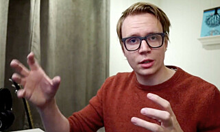 Mikael Brevik er en av mange norske utviklere som fascineres av CSS-kunst. Her fra en av hans mange Kodesnutt-videoer på Youtube.