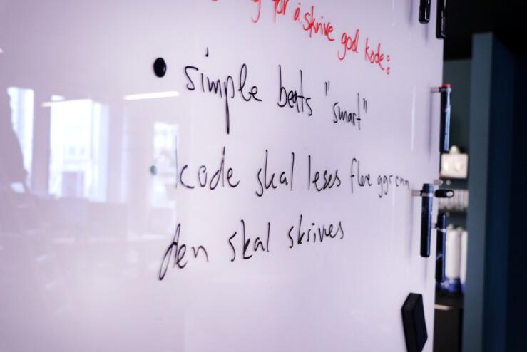 """Simple beats """"smart"""" er nok et slagord flere utviklere bør ta til seg. 📸: Jørgen Jacobsen"""