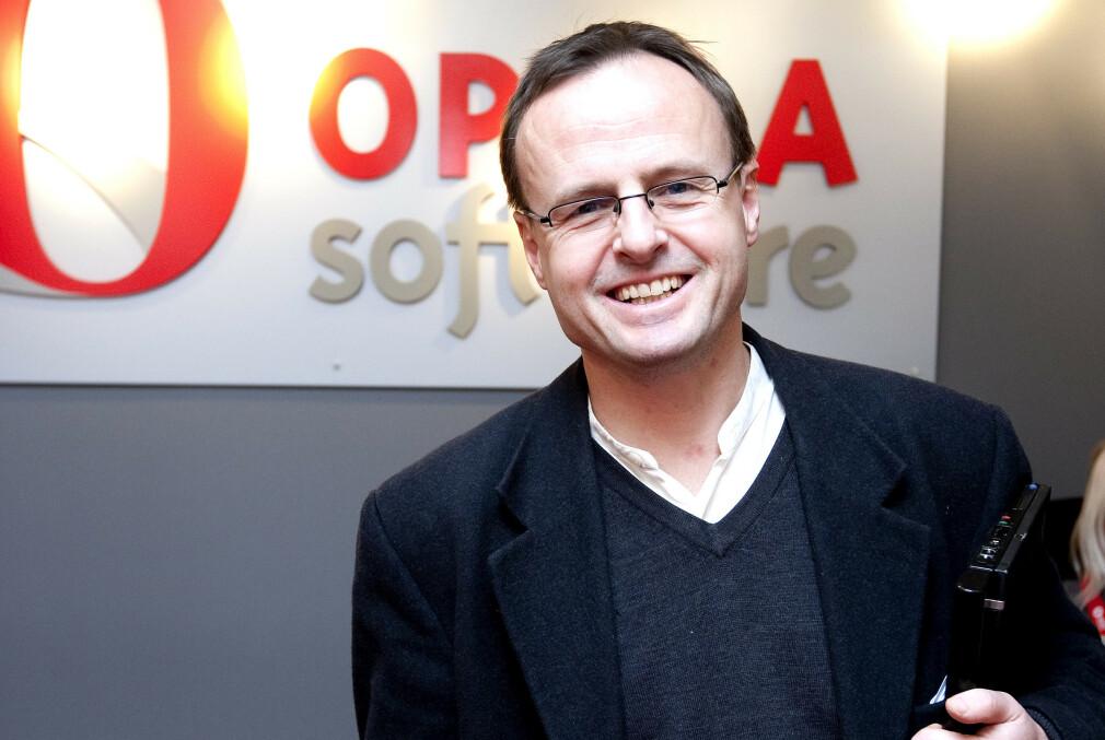 Håkon Wium Lie skapte CSS for 25 år siden. Senere jobbet han i mange år som teknologidirektør i Opera, her fra 2010. 📸: Gorm Kallestad / NTB Scanpix