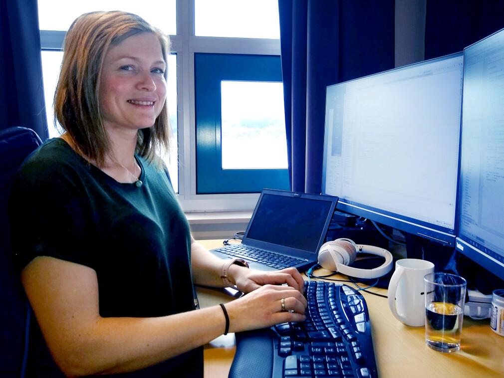 Randi Øyri bor i Sogndal, og jobber i Difi med ID-porten og Kontakt- og reservasjonsregisteret i Leikanger. 📸: Privat