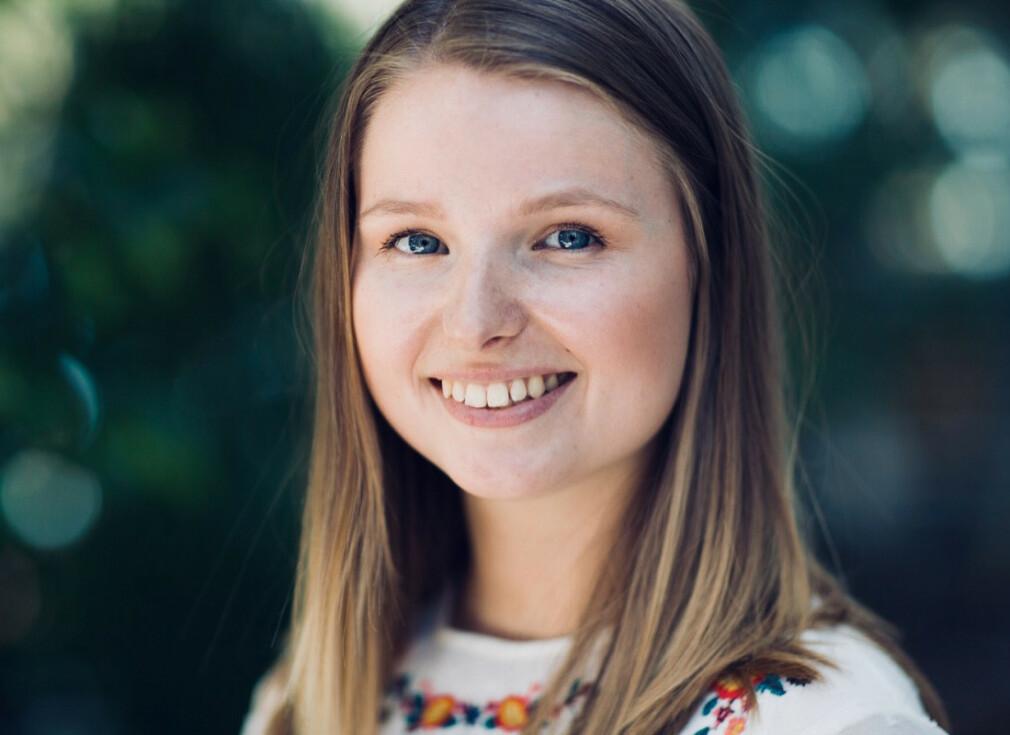 Phrida Norrhall studerte til sivilingeniør på NTNU og har nylig fått jobb i Cisco. 📸: Privat