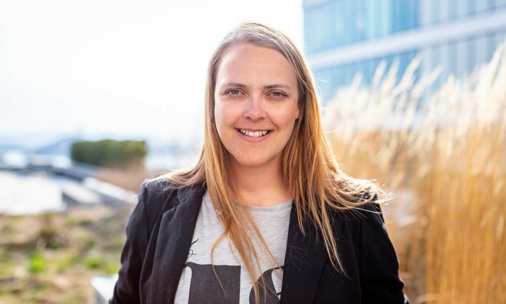 SELVLÆRT: Hun er utdannet på NTNU i Ålesund, men mange av kunnskapene Gry Skårbø sitter på som er selvlærte. - Det er kult at det ble plukket opp på jobbintervjuet med Accenture, sier hun.
