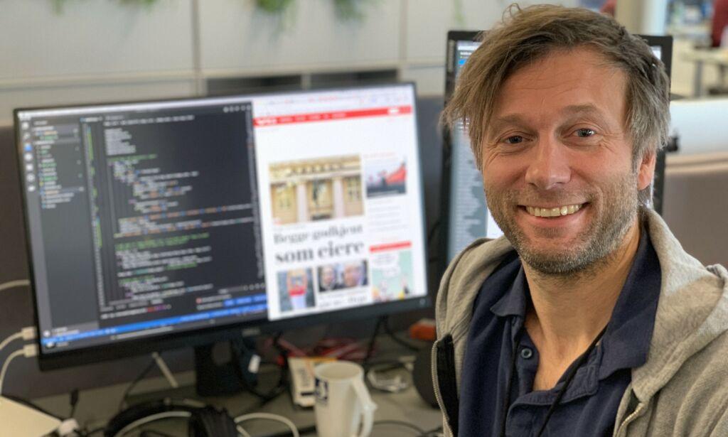 image: Slik hoster de VG.no