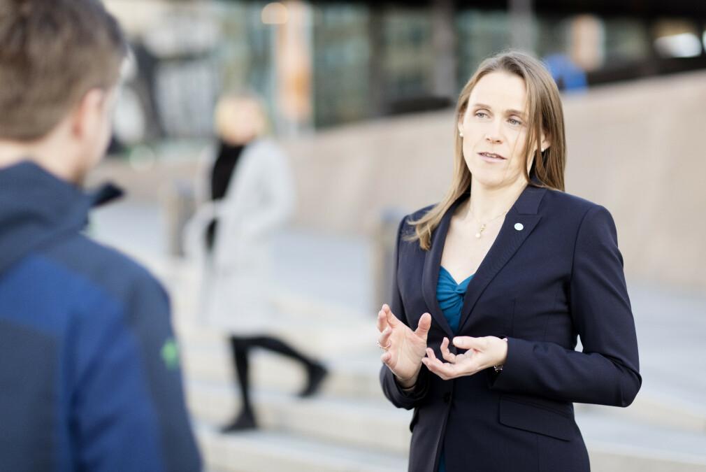 Tekna-president Lise Lyngnes Randeberg synes for få utviklere er medlem av fagforeninger som hennes egen. 📸: Tekna