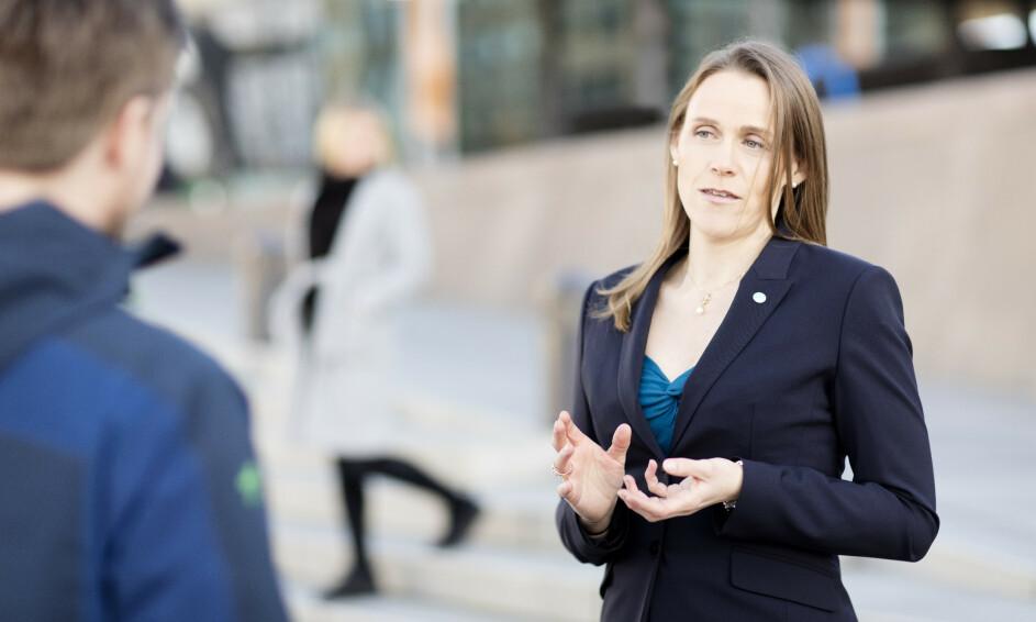 Tekna-president Lise Lyngnes Randeberg sier at noen bemanningsbyråer bruker triksete måter hvor de ikke lønner IT-ansatte mellom oppdrag. 📸: Tekna