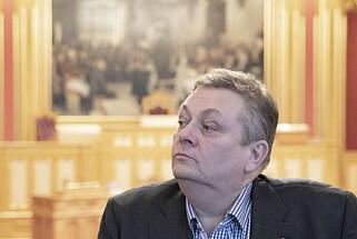 NITO-president Trond Markussen. 📸: NITO