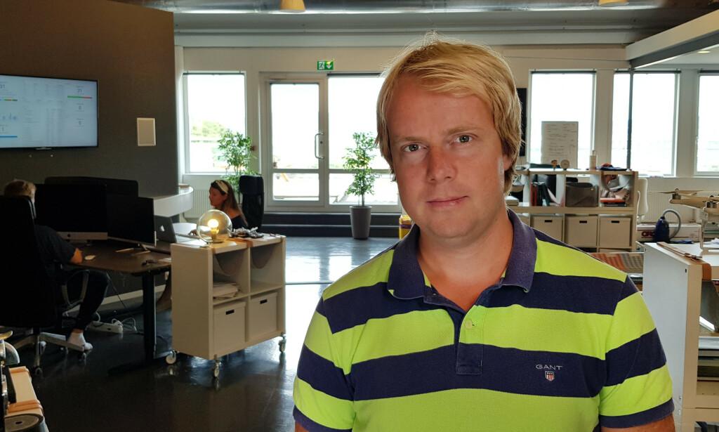 Martin F. Johansen har laget Progsbase. 📸: Privat