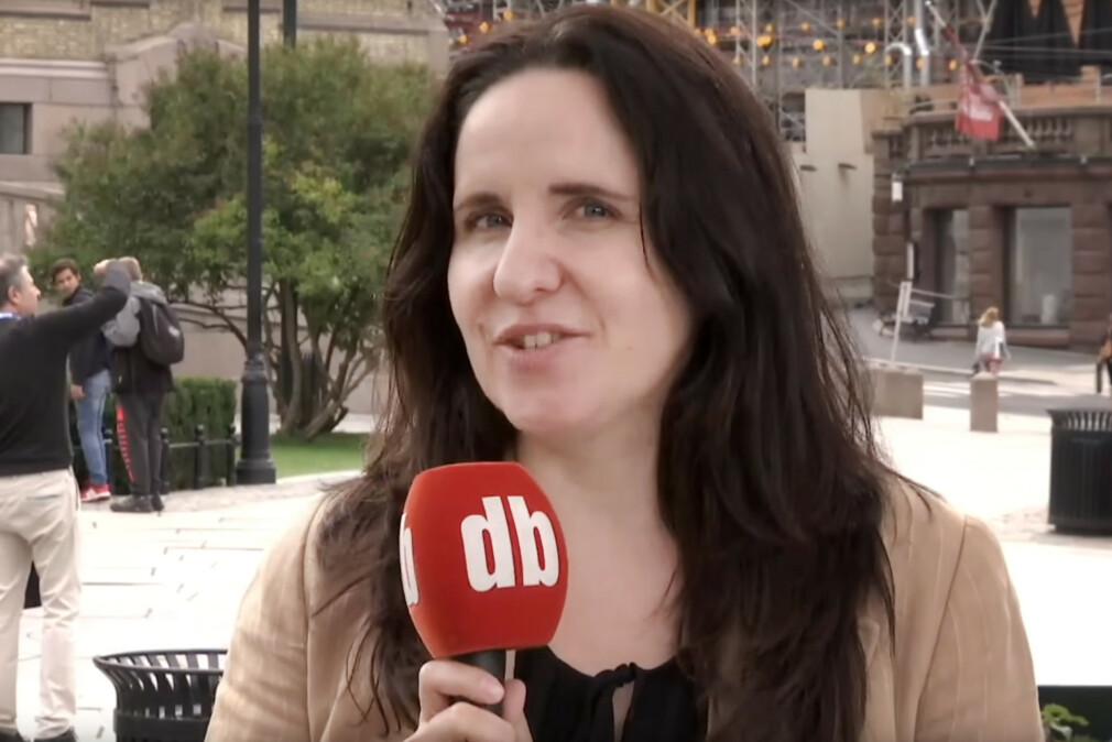 Patricia Aas var i offentligheten i 2017, da hun uttalte seg om maskinell opptelling av stemmer ved stortingsvalget. 📸: Dagbladet TV