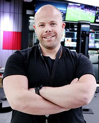 Frontend-utvikler Remi Sture foretrekker å jobbe i React. 📸: Ole Petter Baugerød Stokke