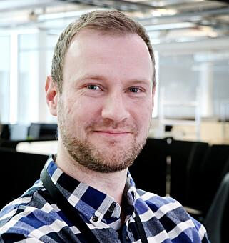 Løsningsarktitekt Erik Bell er opptatt av å hente inn gode tall for innsikt og analyse. 📸: Ole Petter Baugerød Stokke
