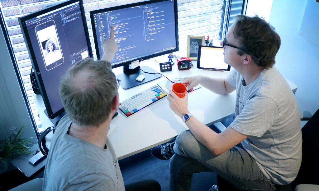 Samarbeid med kollegaer så ofte du kan! Det er da du lærer mest nytt. 📸: Sondre Tallaksrud