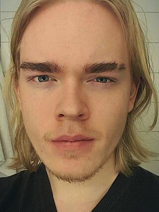 Tobias Edvardsen jobber nå praktisk talt fulltid på Rushaug. 📸: Privat