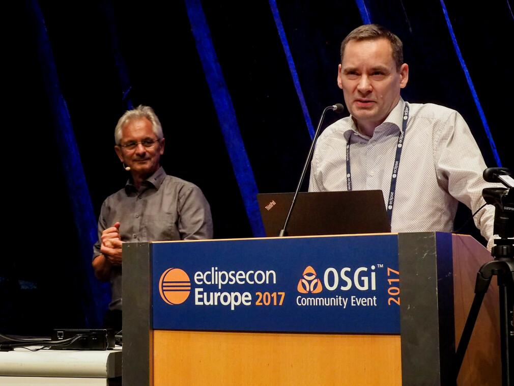 Ukas Koder Torkild Ulvøy Resheim i Itema sitter blant annet i styret til Eclipse Foundation. 📸: Privat