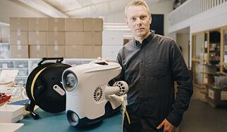 image: Jonas (35) er CTO for en norsk undervannsdrone